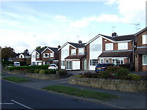SK3750 : Houses on Ripley Road (B6374), Heage by JThomas