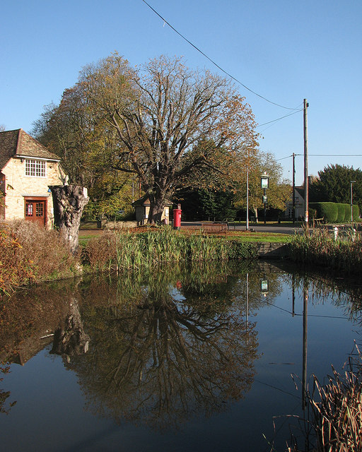 Barton: reflections in the pond