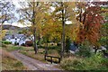 NC7500 : Autumn Colours at Morvich Lodge in Sutherland by Andrew Tryon