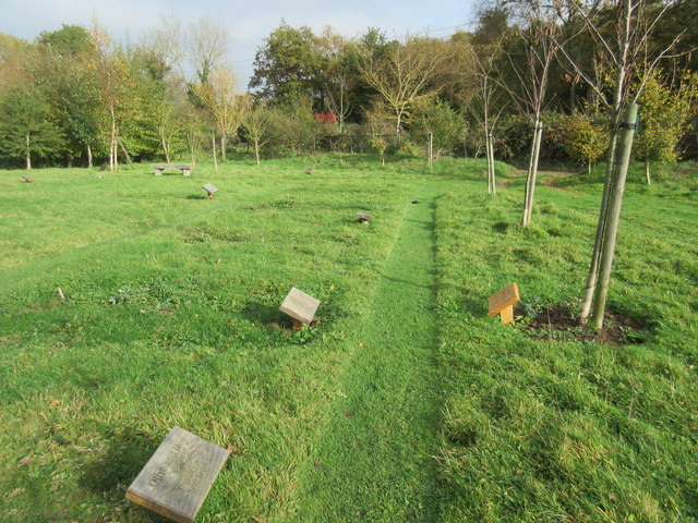 Clayton Wood Natural Burial Ground 169 Peter Holmes Geograph Britain And Ireland