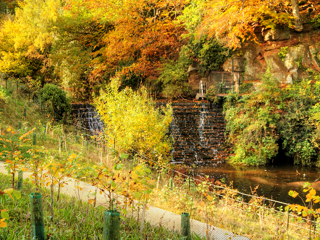 Weir at Quarry Bank Mill