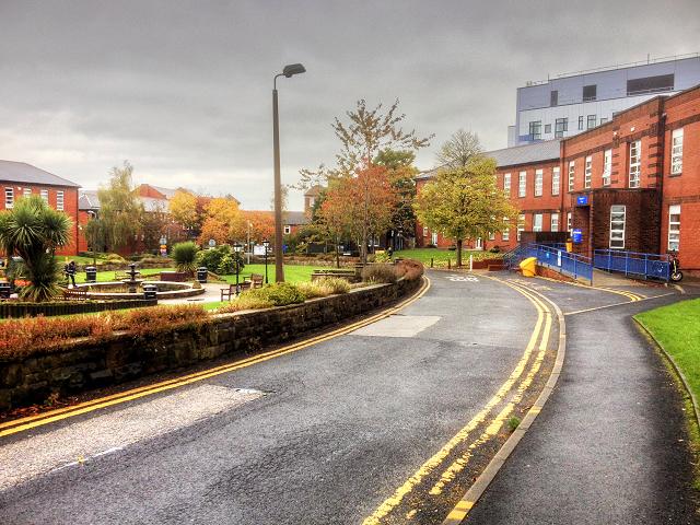 Royal Oldham Hospital, Fountain Gardens