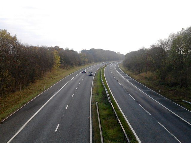 A1(M) southbound near Cleasby