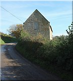 SY4193 : Barn, North Chideock by Derek Harper