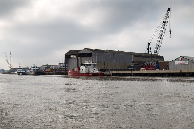 Shipyards on the River Yare