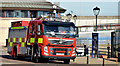 J3474 : Fire appliance, Donegall Quay, Belfast (November 2015) by Albert Bridge