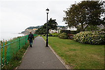 SZ5881 : Isle of Wight Coastal Walk towards Shanklin Chine by Ian S