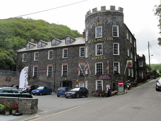 Boscastle-The Wellington Hotel