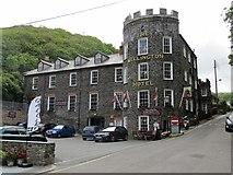 SX0991 : Boscastle-The Wellington Hotel by Ian Rob