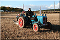 NJ2468 : Vintage Tractor by Anne Burgess