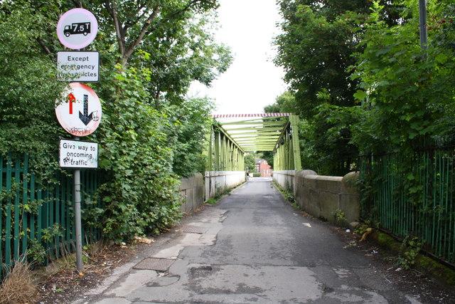 Gott's Bridge, Redcote Lane