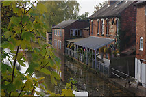 SO9466 : The Boat and Railway, Stoke Prior by Stephen McKay