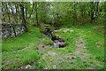 SK2576 : Stream flowing towards Froggatt Edge by Bill Boaden
