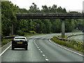 TG0513 : Eastbound A47, Fox Lane Bridge by David Dixon