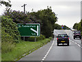 TG0613 : A47 Westbound Approaching Start of Dual Carriageway by David Dixon