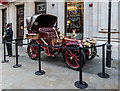 TQ2980 : Veteran Car outside Brasserie Zedel, London W1 by Christine Matthews