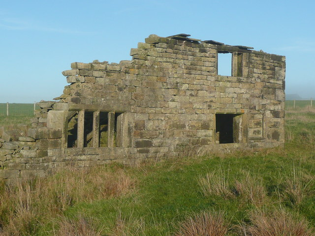 Ruins of Lower Pike Low, Mytholmroyd
