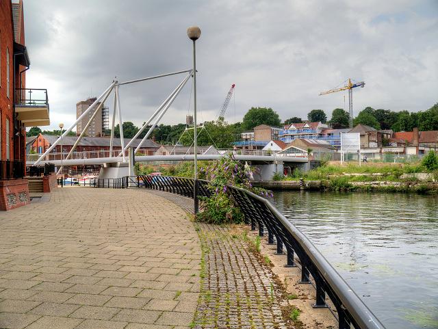 Riverside Path Approaching Lady Julian Bridge