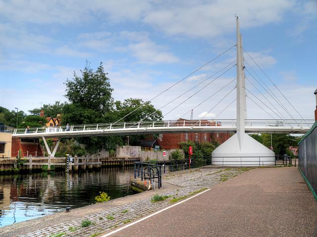 River Wensum, The Novi Sad Friendship Bridge