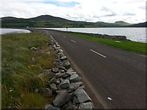 NC5758 : Kyle of Tongue Causeway by Clive Nicholson