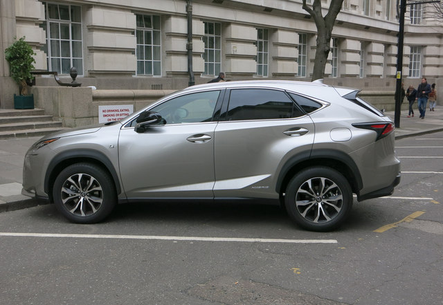 Lexus hybrid SUV