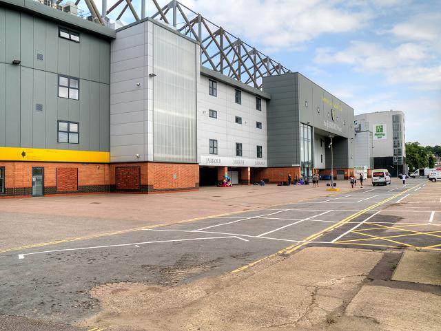 Jarrold Stand, Carrow Road Football Stadium