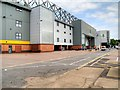 TG2407 : Jarrold Stand, Carrow Road Football Stadium by David Dixon