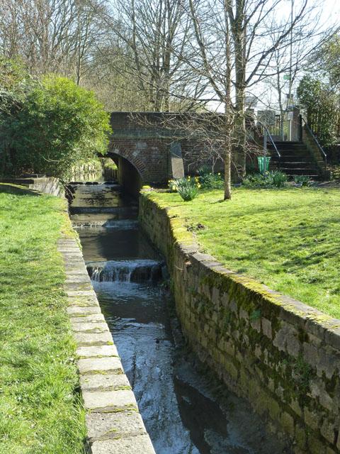 Weirs on Mutton Brook