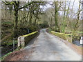 SX2283 : Road Bridge over the River Inny near Laneast by Peter Wood