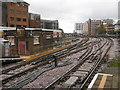 TQ1588 : Tracks west of Harrow-on-the-Hill station by Marathon