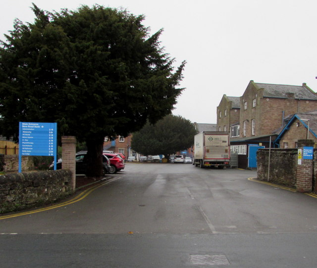 Entrance to Ludlow Community Hospital