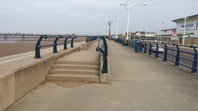 The seafront at Southport