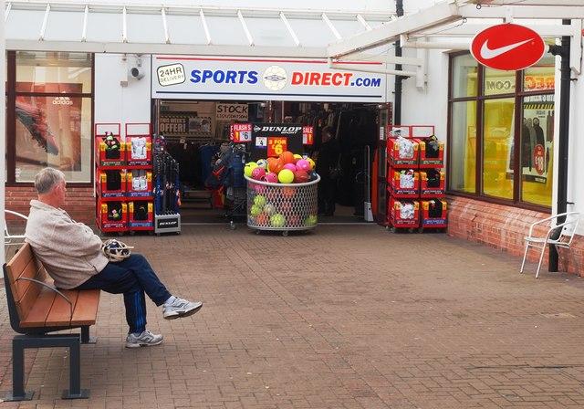 9bf84a1c1c Gretna Gateway Sports Direct © Steve Houldsworth :: Geograph Britain ...