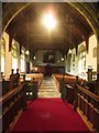 SD9772 : Interior of St Mary's Church, Kettlewell by Graham Robson