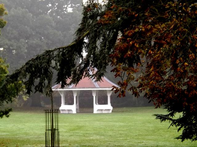 Pavilion in Christchurch Park