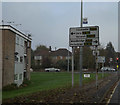 TM1646 : Roadsign on Henley Road by Adrian Cable