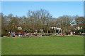 TQ2789 : Playground, Cherry Tree Wood recreation ground by Robin Webster