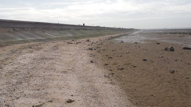 Edge of Southport foreshore