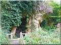 SK5374 : Church Hole, Creswell Crags by Humphrey Bolton