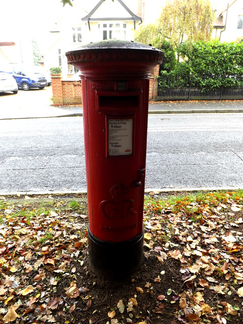 77 Henley Road George V Postbox
