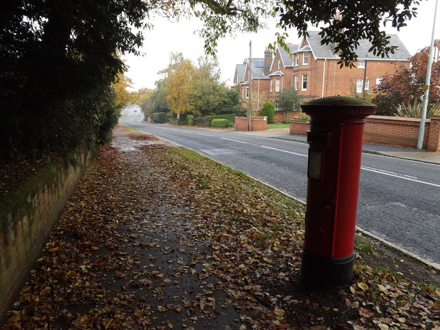 Henley Road & 77 Henley Road George V Postbox