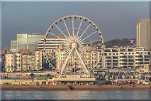 TQ3103 : The Brighton Wheel from Brighton Pier, Brighton, East Sussex by Christine Matthews