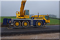 SD4864 : Mobile crane on display by Ian Taylor