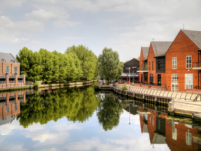 River Wensum, Norwich Riverside
