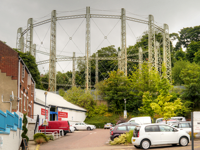 Gas Holder on Gas Hill