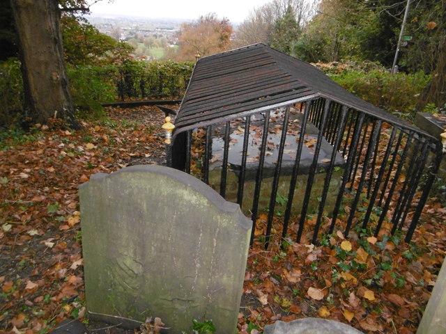 The Peachey tomb in St Mary's Churchyard, Harrow on the Hill