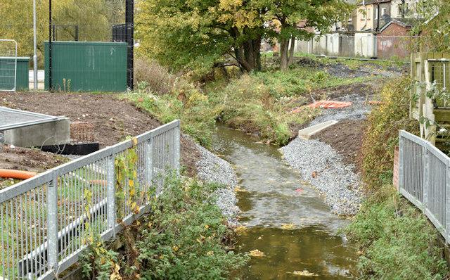 Knock River works, Belfast - November 2015(1)