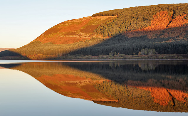 St Mary's Loch reflections