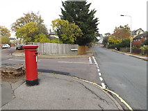 TM1645 : B1077 Tuddenham Road & 5 Constable Road Postbox by Adrian Cable