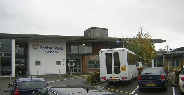Booker Park School, Stoke Mandeville: main entrance